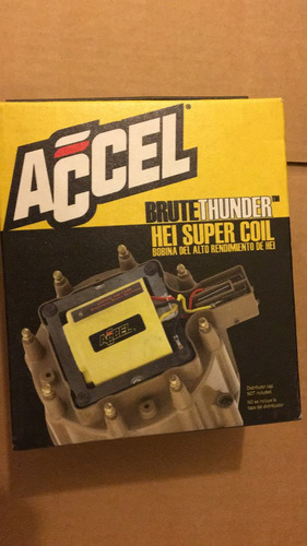 bobina accel brute thunder chevrolet hei 6 y 8 cilindros