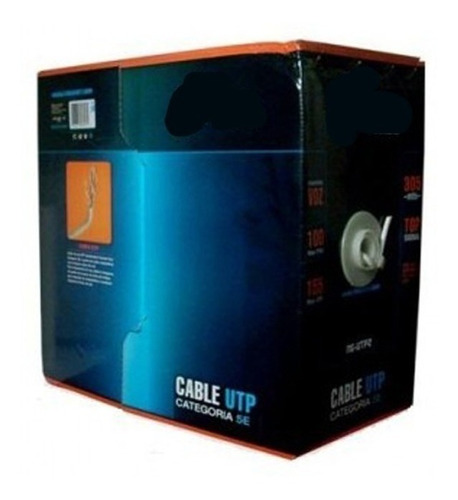 bobina cable red noganet cat5e de 305 mts interior oferta!!!
