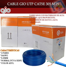 Bobina Cable Utp Cat5e 305 Mts Gio Rj45 Redes Cctv Lan Ry1 on ethernet over twisted pair, tia/eia-568, power over ethernet, patch cable, networking cables, optical fiber cable, coaxial cable, network interface controller, cat 5 wiring diagram, modular connector, ethernet crossover cable, cat 5 e panels, plenum cable, cat 5 wiring jack schematic, patch panel, ethernet hub, cat 5 wiring code, category 6 cable, shielded cable, cat 5 e diagram, cat 5 e cord, category 3 cable, crossover cable,