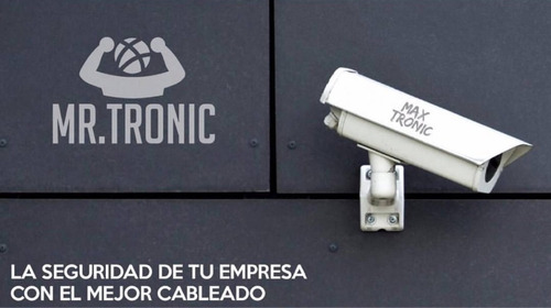 bobina cable utp cat5e 305mts mr tronic redes cctv lan