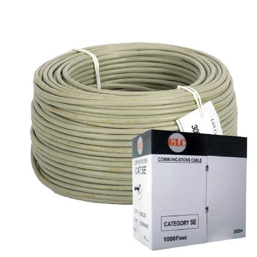 bobina cable utp glc red cat 5e 305 mts interior 4 pares
