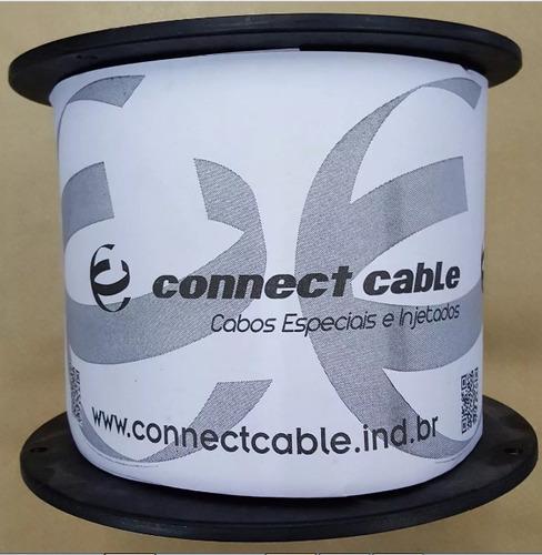 bobina cabo de rede cat5 preto 305m connect cable.preto.