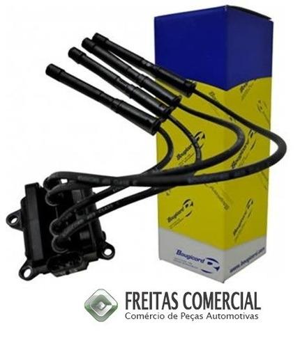 bobina  com cabos  renault clio/peugeot 1.0 16 v  original