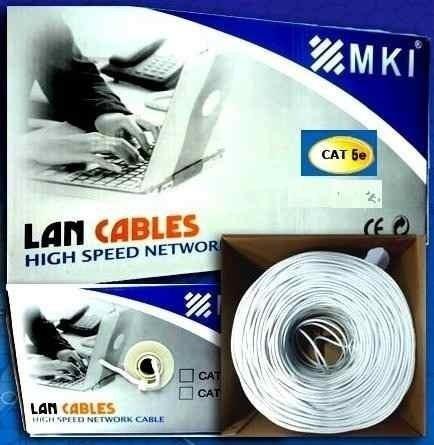 bobina de cable utp cat5e 305 mts 70/30 mki