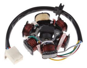 6 Bobina Poste Magneto Volante Estator para PIT Quad Dirt Bike ATV Buggy