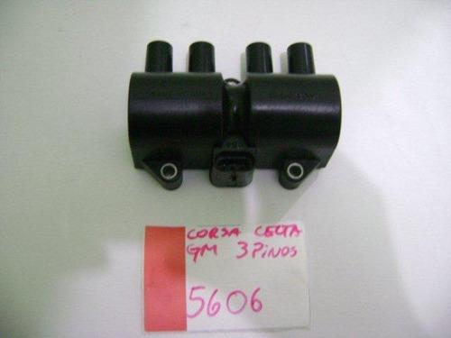bobina de ignição delphi 93363483 3 pinos chevrolet fiat