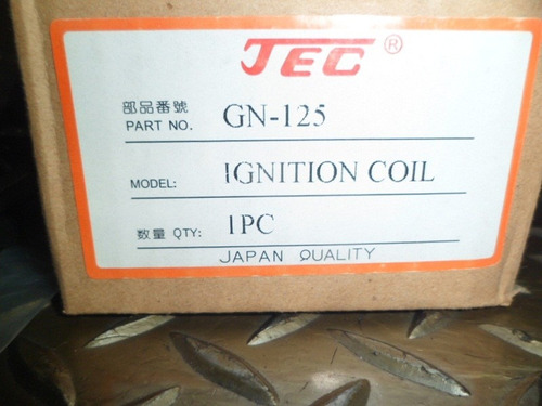 bobina de ignition gn-125 maraca:(tec) calidad japonesa