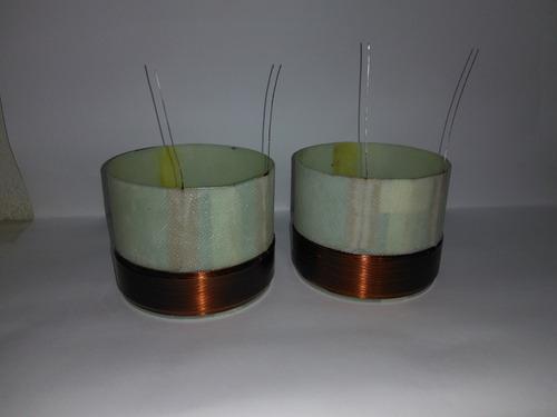 bobina fio quadrado cobre puro selenium tornado em 6 ohms