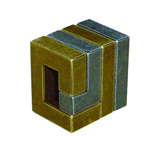 bobina hanayama cast metal brain teaser puzzle nivel 3