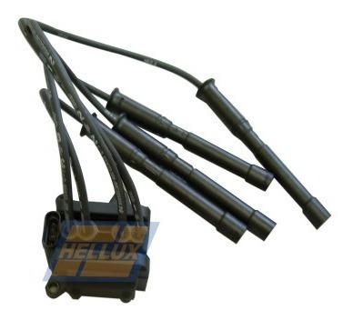 bobina hellux renault clio 1.2i con cables bujia 3 tornillos