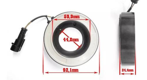bobina magnética compressor grand siena 1.6 e-torq original