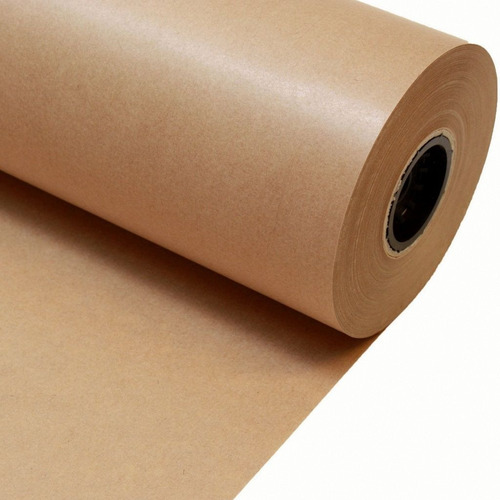 bobina papel kraft madera 160 cm/80 grs papelera bustamante