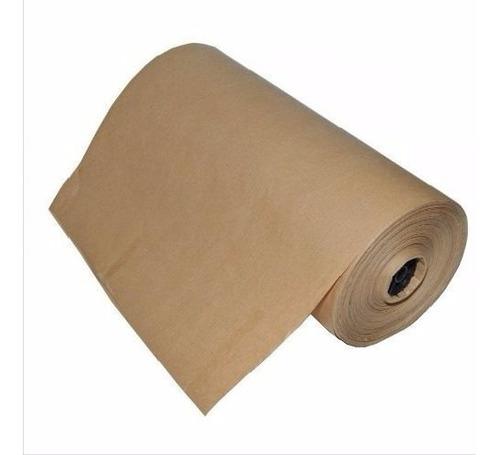 bobina papel semi kraft pardo 60 cm 250 metros 10 kg