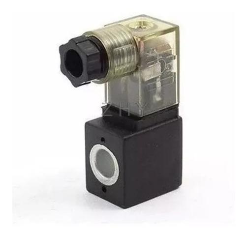 bobina para válvula pneumática solenoide orifício 8mm tensão 24 vdc