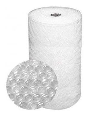 bobina plastico bolha 0,60m x 100 metros bobina 20 micras