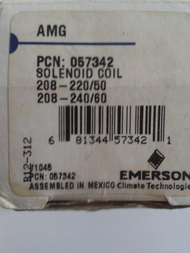 bobina p/solenoide 057342 emerson 220v