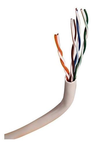 bobina rollo cable red utp noga cat 5e 305 metros interior