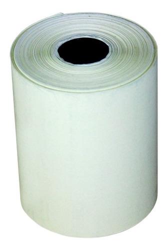 bobina termica impressora 58mm x 30metros 10 unidade amarelo