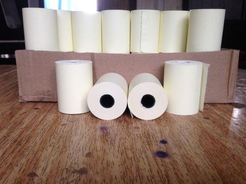 bobina térmica pdv 80x80 amarela caixa c/ 16 rolos
