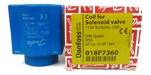 bobina válvula  solenoide danfoss 10w 110v cnr-4578