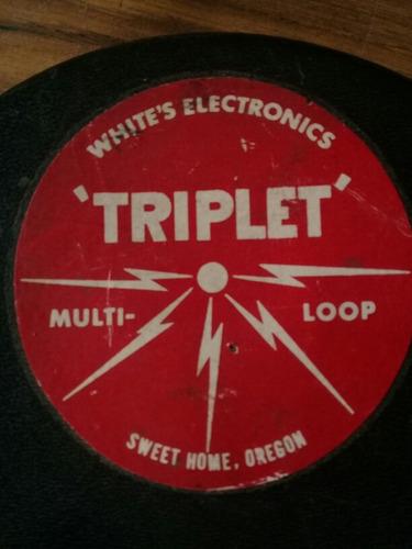 bobina whites electronics multiloop triplet detector metal
