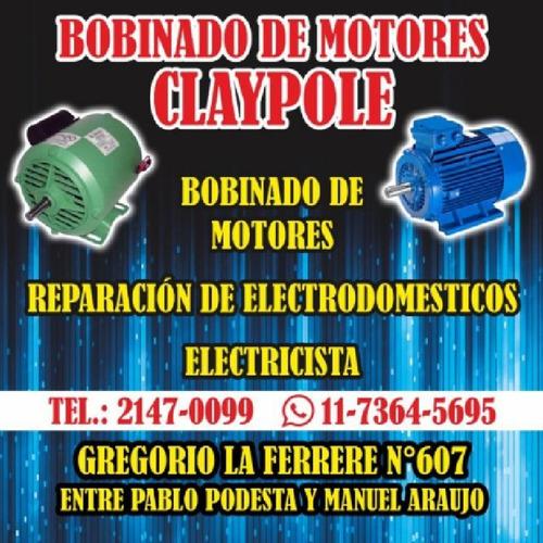 bobinado de motores claypole