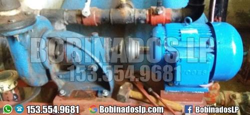bobinado de motores  reparación de bombas de agua