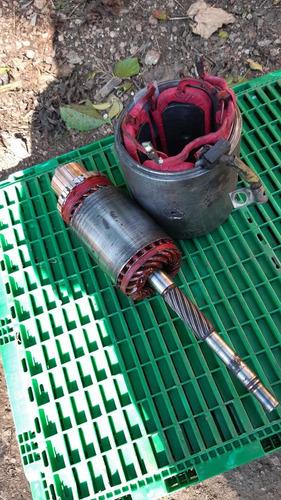 bobinados de arranque y alternadores
