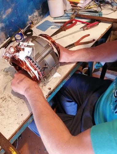 bobinados de motores eléctricos,generadores,bombas de agua..