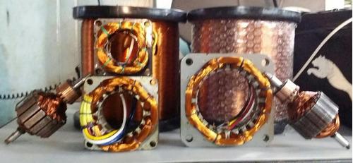 bobinas. campos de ventilador