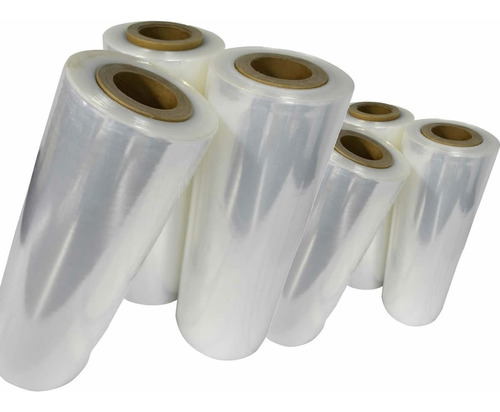bobinas de filme stretch 4,00 kg 50 cm x 225 metros