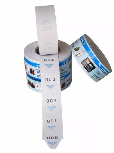 bobinas de senha (3 ou 2 digitos)  beta  etiquetas * jr