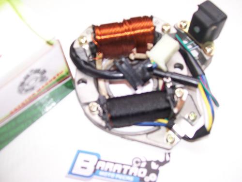 bobinas estator c/ mesa honda biz 100 es partida elétrica