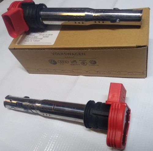bobinas rojas paq 5 piezas vw volkswagen 06e 905 115e