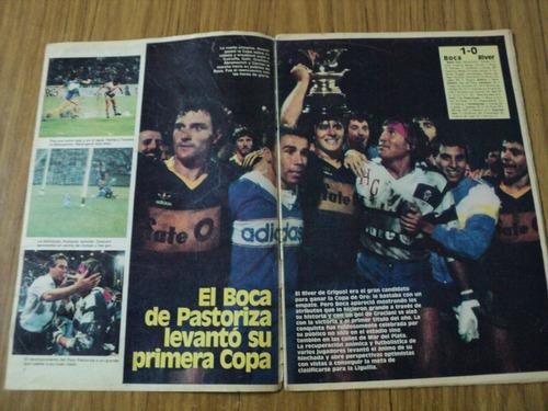 boca 1 - river 0 - boca campeon- copa de oro / la deportiva