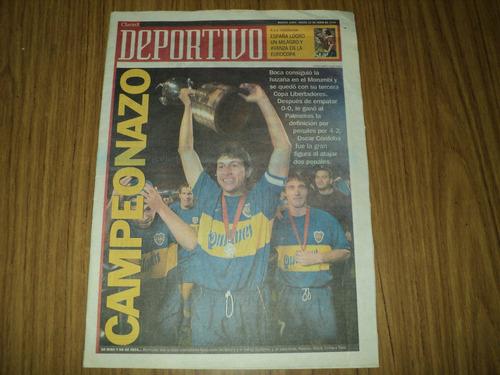 boca campeon libertadores 2000