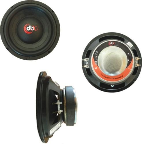 boca dbx 8 polegadas 250 watts rms bobina dupla sub grave