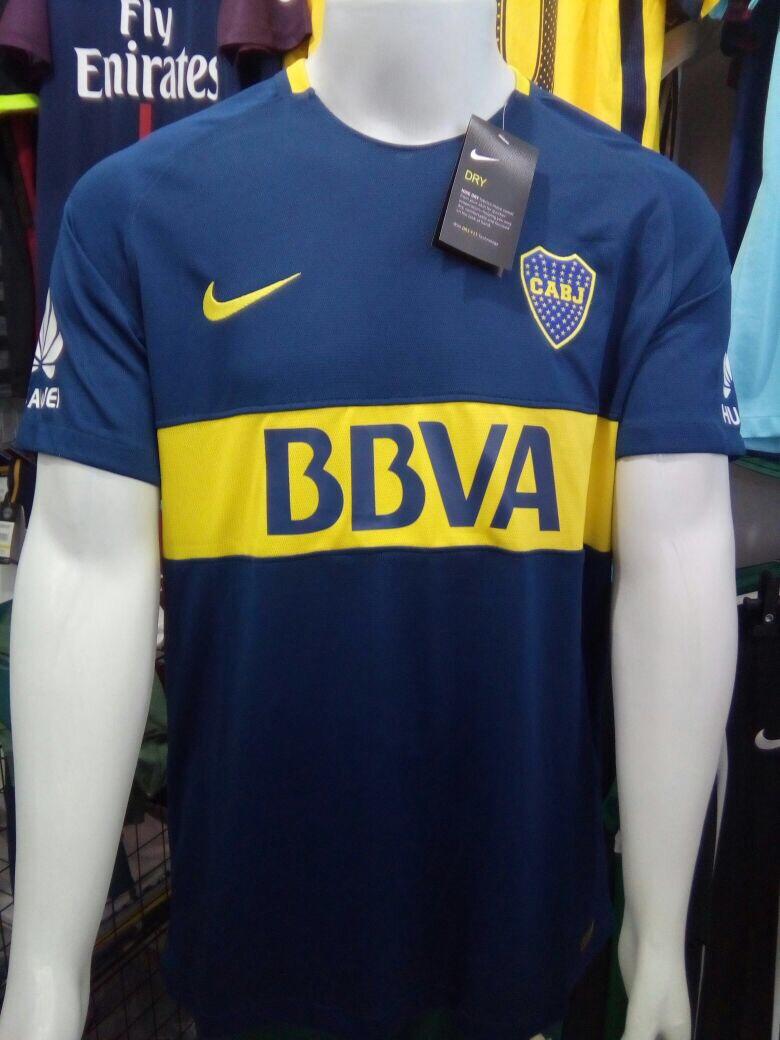 Camisa Nike Boca Juniors Home 2018 S n° - Azul E Amarelo - R  130 8d1e8676409a2