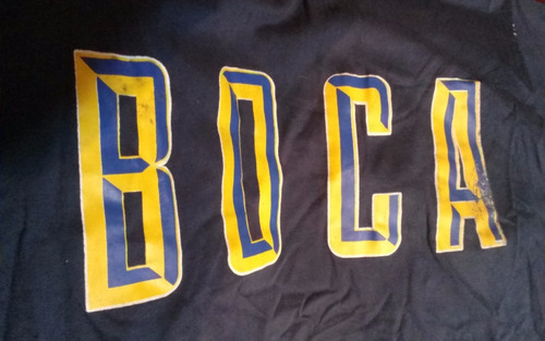 boca juniors remera antigua original unica en mercado libre