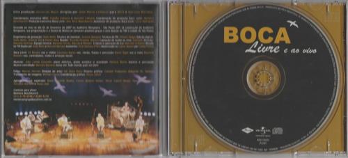 boca livre - cd livre e ao vivo - 2007