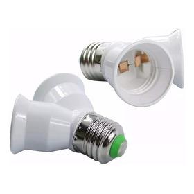Bocal Soquete Adaptador Tipo Y Duplo Duas Lampadas E27