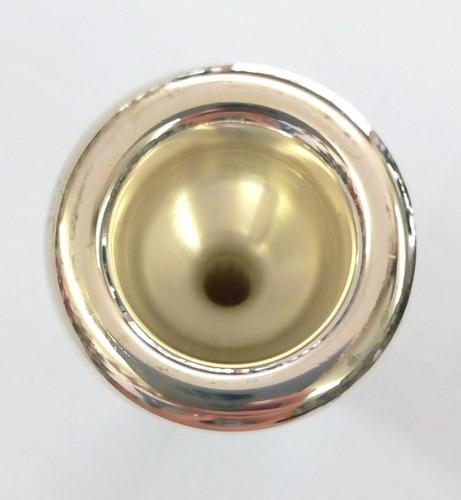 bocal trombone/bombardino prateado 6 1/2 al freesax