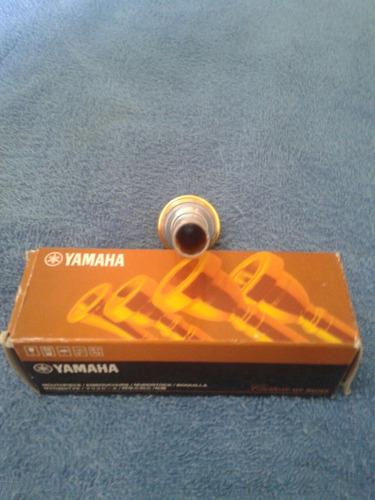 bocal trompete yamaha custom japan 16c4-gp seminovo