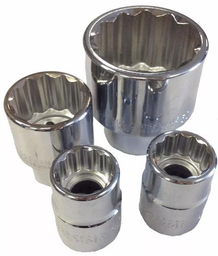 bocallave  dado - tubo enc.3/4  estriado 7/8 crossman