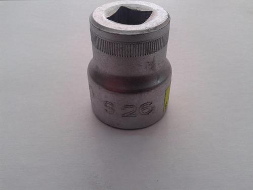 bocallave tubo bahco estriado s26mm