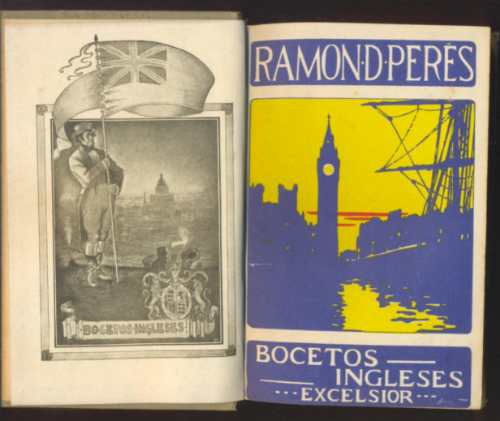 bocetos ingleses, ramón perés.