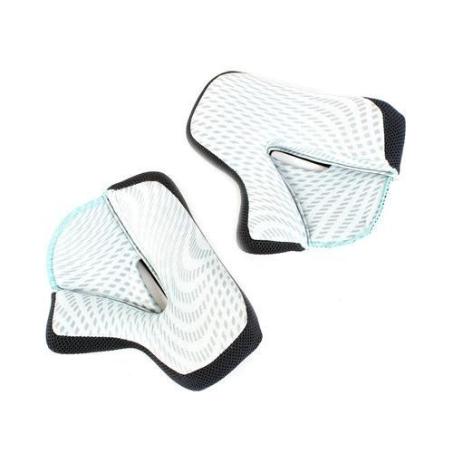 bochecheira para capacete motocross thor verge solid