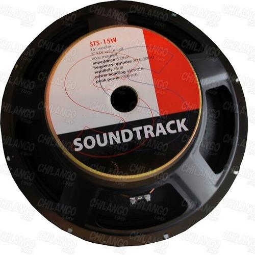 bocina 15 pulgadas 450w rms soundtrack