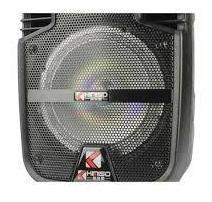 bocina 8 pulgadas con control y microfono kimiso karaoke