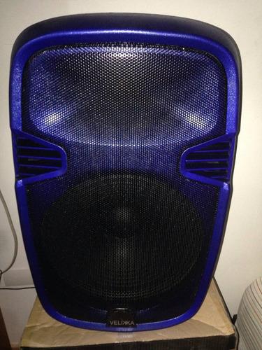 bocina activa 15' velika nueva caja micrófono bluetooth sd